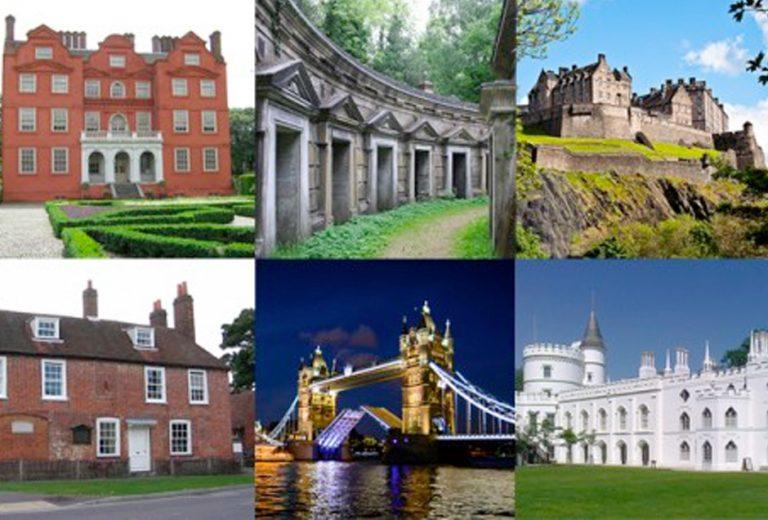 Ten Historic Sites I'm desperate to visit