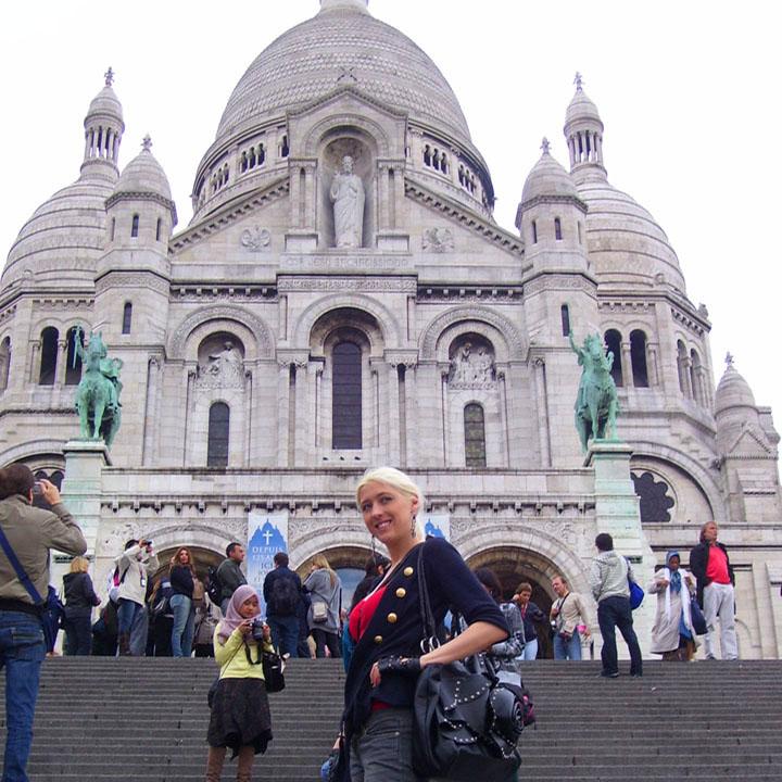 Paris-Frankie Sacre Coeur