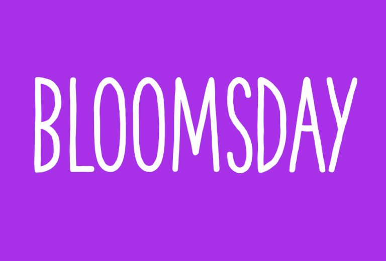 Today is Bloomsday