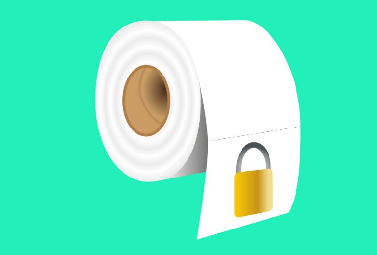 The mystery of the locked toilet roll