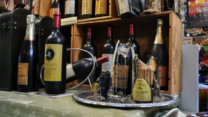 DSC_0139 Wine Bottle Candle