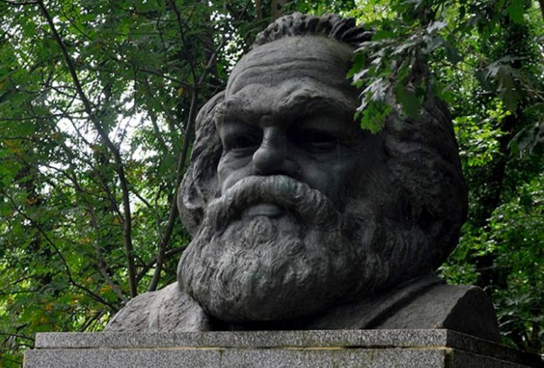 Hanging with Karl Marx