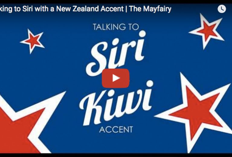 Siri hates New Zealand accents