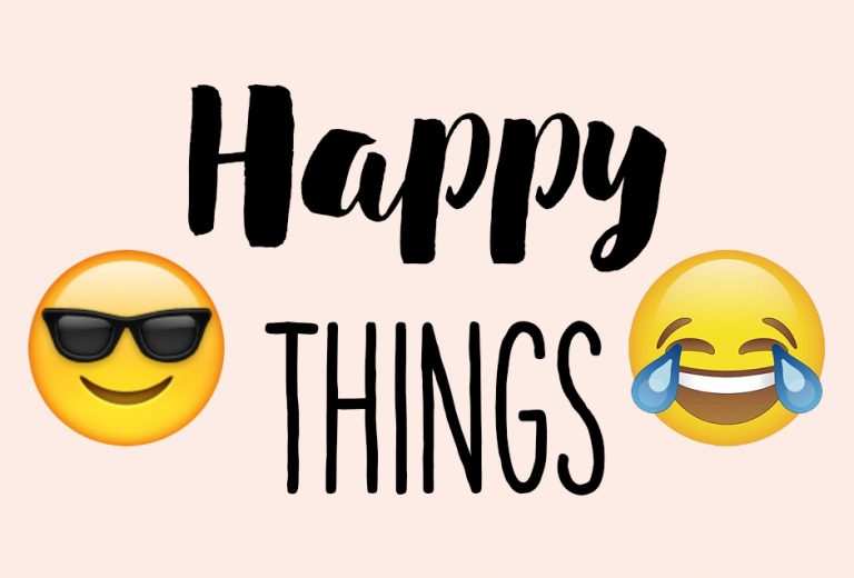 Ten happy things #4