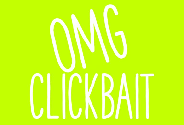 You won't believe how I wrote clickbait headlines