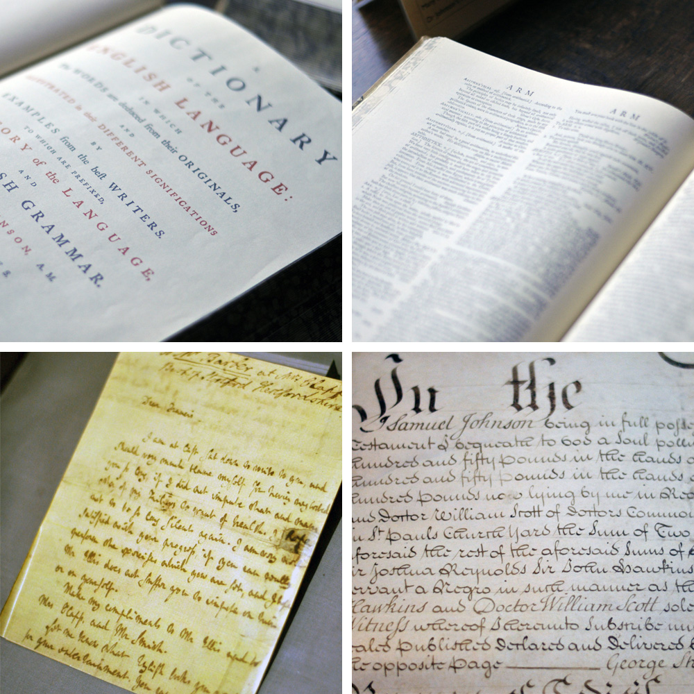 Dr Johnson's House, Dictionary