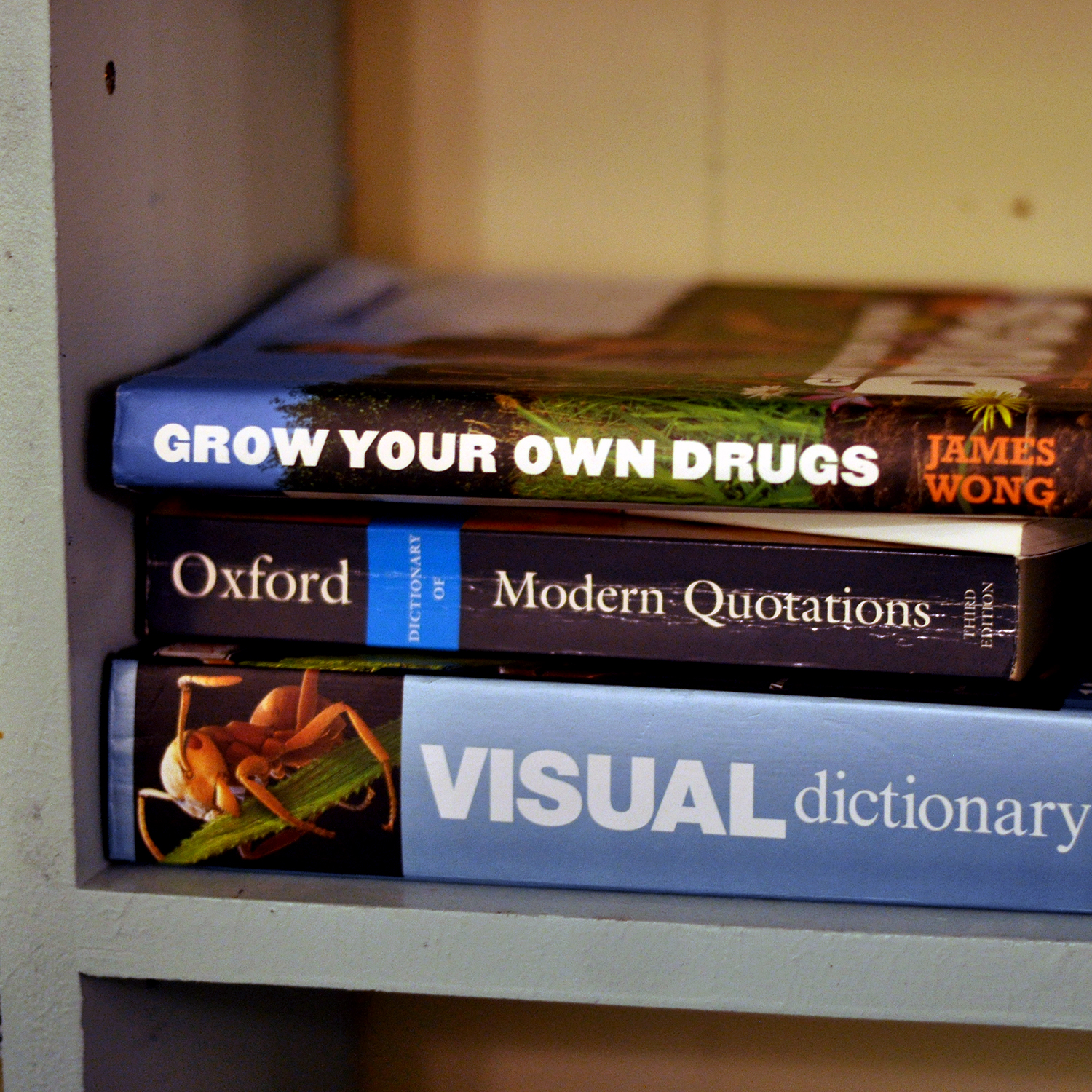 FYI Friday Grow your own drugs book