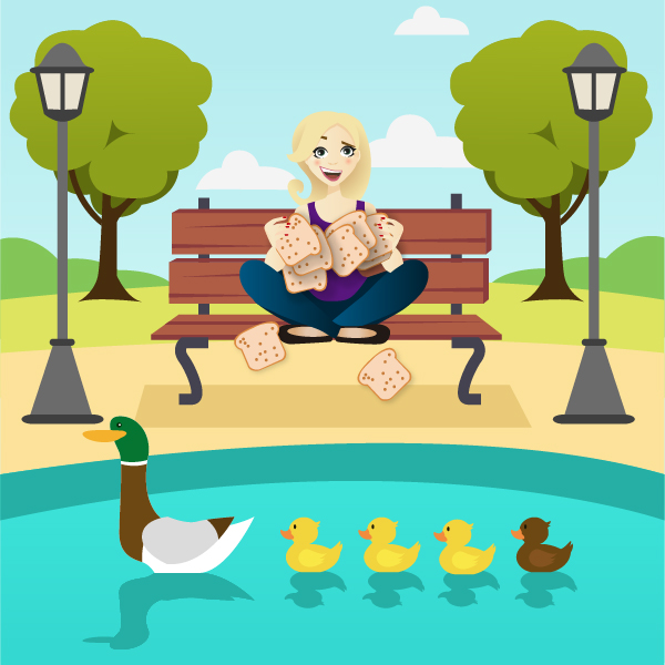 The Mayfairy you shouldn't feed bread to ducks