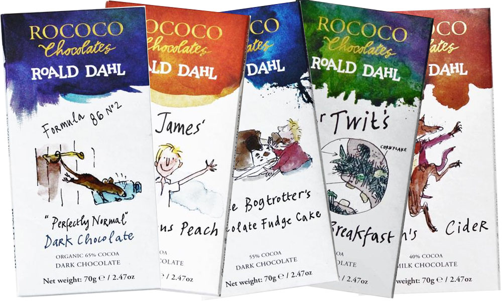 Rococo Roald Dahl Chocolates, FYI Fridays