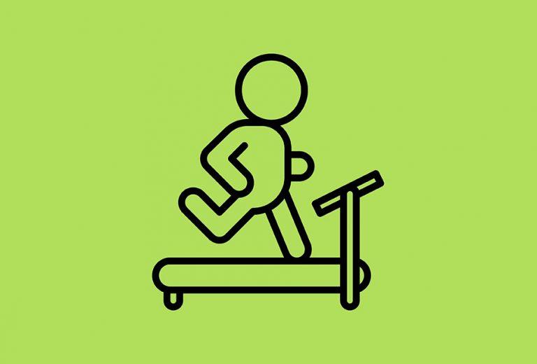 Blogging on a treadmill